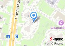 Компания «Муниципалитет внутригородского муниципального образования Москворечье-Сабурово» на карте