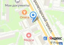 Компания «Ювелирная мастерская на Пролетарском проспекте» на карте