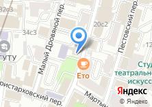 Компания «МГУТУ» на карте