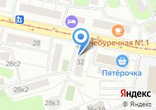 Компания «Цветочная база №1» на карте
