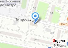 Компания «Магазин фастфудной продукции на ул. Чичерина» на карте