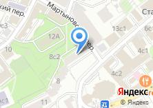 Компания «Московский областной комитет Российского профсоюза работников химических отраслей промышленности» на карте