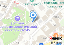 Компания «Газстройбанк» на карте