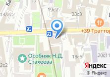 Компания «Военная комендатура г. Москвы» на карте