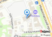 Компания «Драйтек» на карте