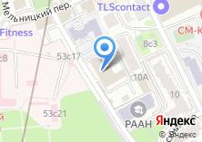 Компания «Московский центр пожарной безопасности» на карте