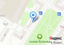 Компания «Сауна на ул. Бажова» на карте