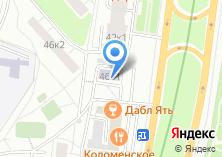 Компания «ОДС Инженерная служба района Нагатино-Садовники» на карте