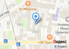 Компания «ИнжКапСтрой» на карте