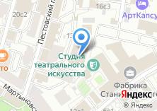 Компания «Фабрика Станиславского» на карте