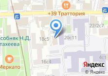 Компания «Московия» на карте