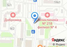 Компания «Мосинфо» на карте