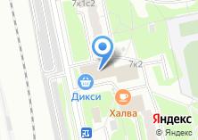 Компания «Магазин швейной фурнитуры на Михневской» на карте