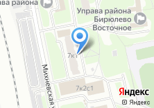 Компания «ОДС Инженерная служба район Восточное Бирюлево» на карте