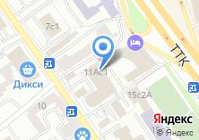 Компания «Интранс-М» на карте