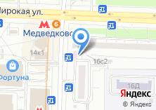 Компания «Лекрус» на карте
