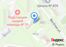 Компания «Профсоюз работников здравоохранения г. Москвы» на карте