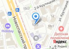 Компания «Управление Федеральной службы судебных приставов по г. Москве» на карте