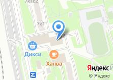 Компания «Галантерея на Михневской» на карте