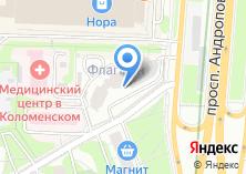 Компания «Takeo» на карте