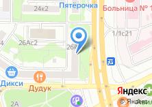 Компания «Акцио» на карте