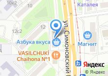 Компания «Седьмой Континент» на карте