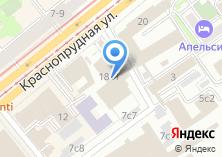 Компания «Информационно-вычислительный центр Московской железной дороги» на карте