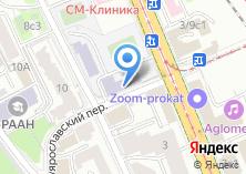 Компания «Интернационал» на карте