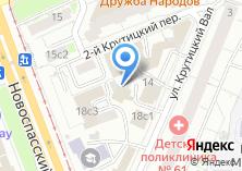 Компания «M Consulting» на карте