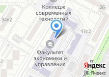 Компания «Московский юридический колледж» на карте