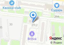 Компания «Инессвер» на карте