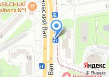 Компания «Магазин цветов на Симоновском Валу» на карте