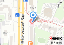 Компания «Магазин светильников на ул. Симоновский вал» на карте