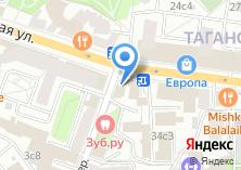 Компания «Магазин цветов на Таганской 32/1 ст1» на карте