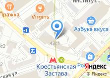 Компания «Строящееся административное здание по ул. Воронцовская» на карте