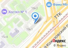 Компания «Авторалли» на карте
