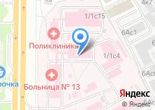 Компания «Городская клиническая больница №13» на карте