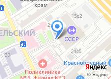 Компания «Строящийся жилой дом по ул. Верхняя Красносельская» на карте
