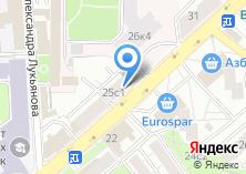 Компания «Технософт» на карте