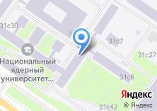 Компания «МИФИ» на карте