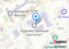 Компания «Сеть магазинов художественных товаров» на карте