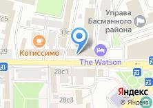Компания «Отделение по делам несовершеннолетних Отдела МВД России по району Басманный» на карте