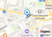 Компания «Московская ассоциация предпринимателей» на карте