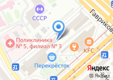 Компания «Мастерская по ремонту обуви и изготовлению ключей на Краснопрудной» на карте
