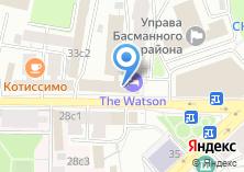 Компания «МосХостел» на карте