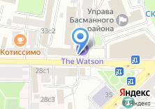 Компания «АКБ Ланта-Банк» на карте