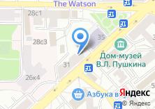 Компания «Первый клиентский банк» на карте