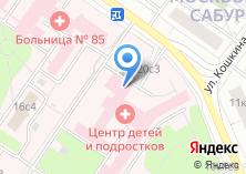 Компания «Центральная детская клиническая больница» на карте