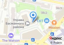 Компания «Управа Басманного района» на карте
