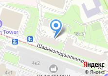 Компания «Fitking» на карте